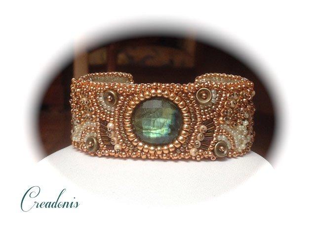 bracelet-brodé